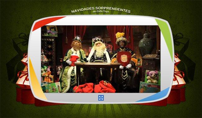 navidades sorprendentes sorprende a tus hijos con un vdeo de pap noel o los reyes magos un ao ms