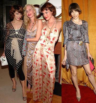 El estilo de Milla Jovovich