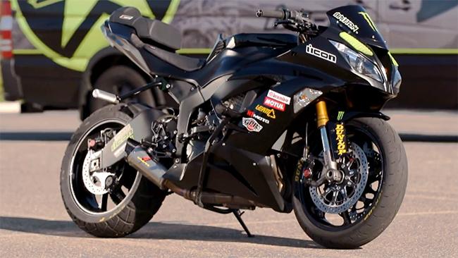 La Kawasaki 636 de Jason Britton