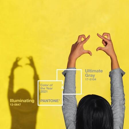 Pantone elige Illuminating y Ultimate Gray como los colores del 2021 con los que transmitir positividad y fuerza