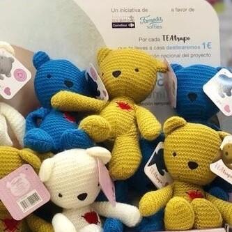 TEAtrapo, los nuevos peluches solidarios que ayudan a la detección precoz del autismo en bebés con una novedosa técnica