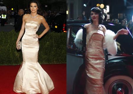 Taylor Swift Vestido Wildes Dreams Kendall Jenner Met Gala 2014 5