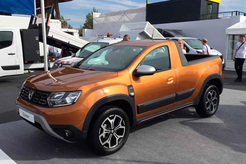 Ya falta menos: se confirma que el Dacia Duster pick-up llega este 2019