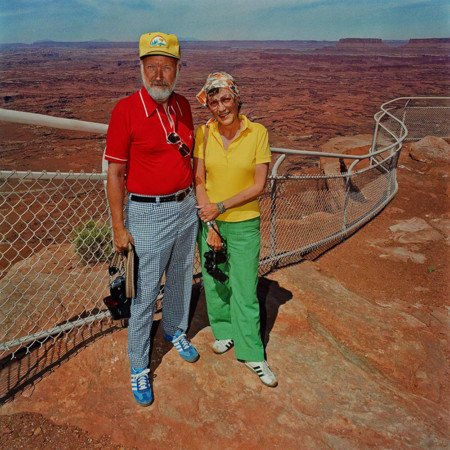 Couple At Canyonlands National Park Ut