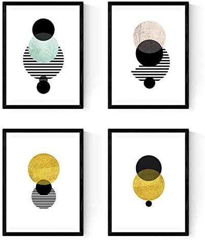 Láminas con imágenes geométricas