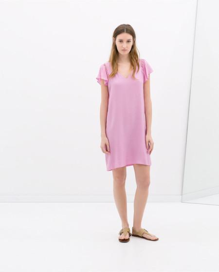 Rosa Vestido de Zara