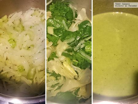 Sopa Alcachofa Y Espinacas 1