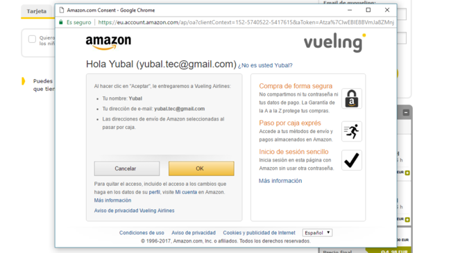 Compra Amazon® Pay