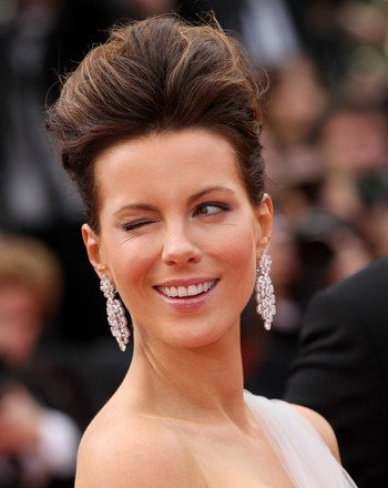 Péinate como Kate Beckinsale en Cannes 2010