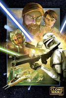 'Star Wars: The Clone Wars', nuevos posters