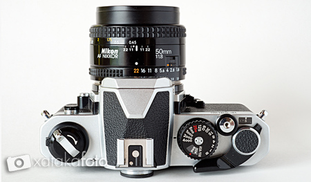 Nikon FM2 cenital