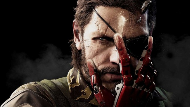 Big Boss Bionic Arm Metal Gear Solid V The Phantom Pain Wallpaper Hd Desktop