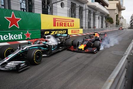 Verstappen Hamilton Monaco Formula 1 2019