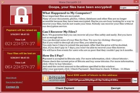 """Cómo un investigador anónimo ha detenido """"accidentalmente"""" y con 10 euros el ransomware WannaCrypt"""