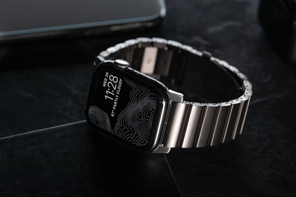 Las nuevas correas de titanio y eslabones de NOMAD son una seria alternativa a las oficiales de Apple