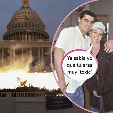 El exmarido de Britney Spears, con el que estuvo casada 55 horas, uno de los trumpistas que han asaltado el Capitolio