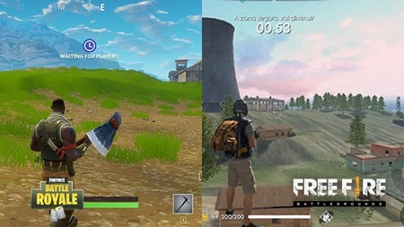 Fortnite Vs Free Fire Las Diferencias En Dos De Los Battle