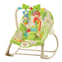 Oferta Flash en la hamaca de Fisher-Price crece conmigo: hasta medianoche cuesta 44,49 euros en Amazon