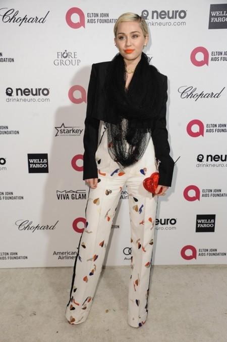 Miley Cyrus de Schiaparelli