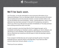 El Dev Center de Apple hackeado