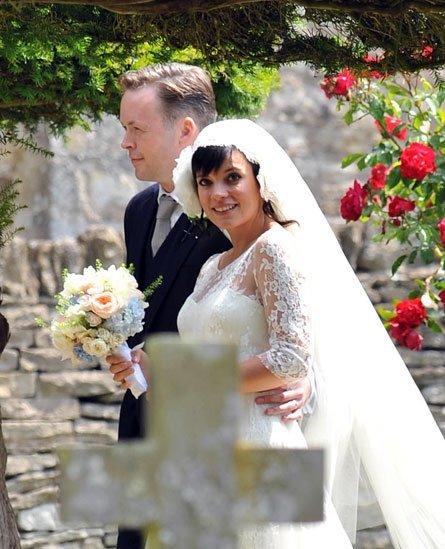 El maquillaje de Lilly Allen el día de su boda
