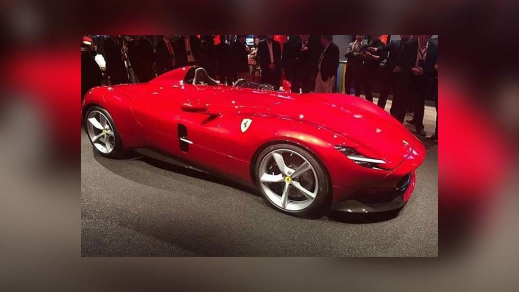 ¡Y este es el espectacular monoplaza Ferrari Monza SP1, el nuevo icono de la marca que revive los años 50!
