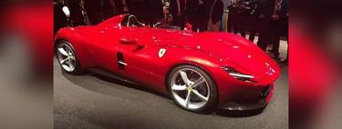 Y este es el espectacular monoplaza Ferrari Monza SP1, el nuevo icono de la marca ¡que revive los años 50!