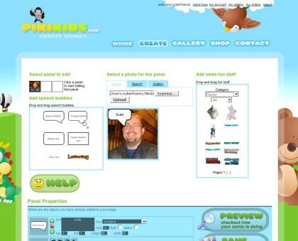 Pikikids, creando nuestros propios comics a través de Internet