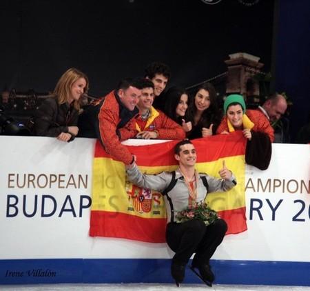 El patinador de hielo Javier Fernández será el abanderado de España en los juegos olímpicos de Sochi