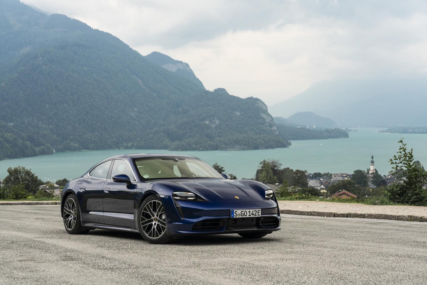 Foto de Porsche Taycan prueba contacto (94/275)
