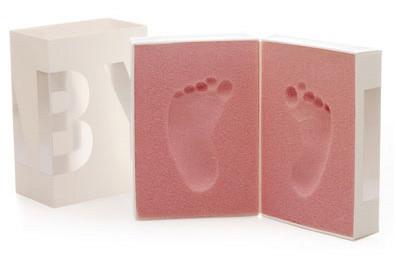 Baby Foot Print, para bebes que dejan huella