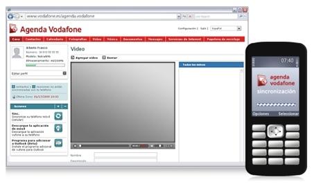 Agenda Vodafone, sincronización para móviles