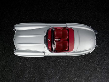 Mercedes-Benz 300 SL Roadster desde arriba