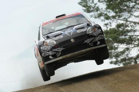 El accidente de Kimi Raikkonen en el Rally de Finlandia