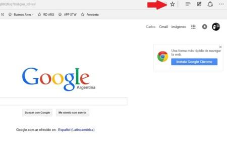 Microsoft Edge Google
