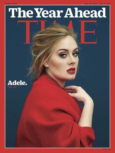 Adele termina y empieza el año protagonizando portadas