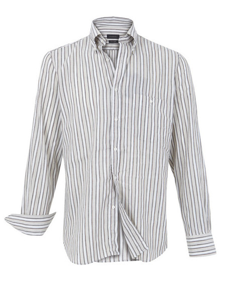 Camisa lino rayas Emidio Tucci