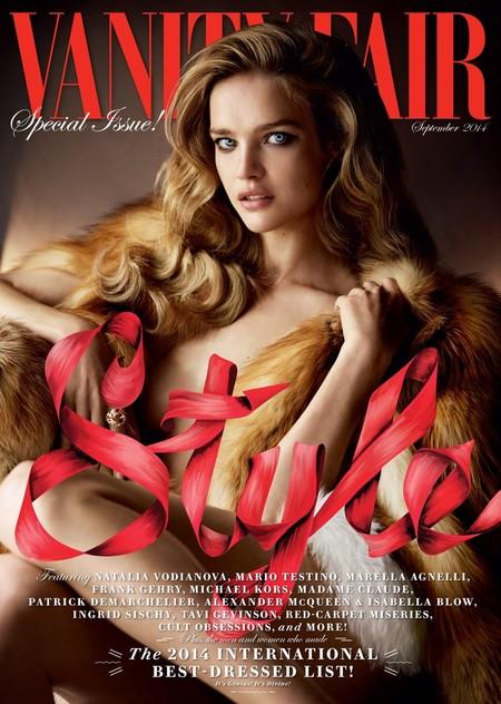 Vanity Fair: Natalia Vodianova