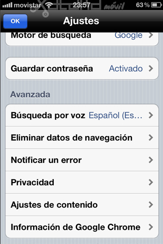 Foto de Google Chrome en iOS (9/15)