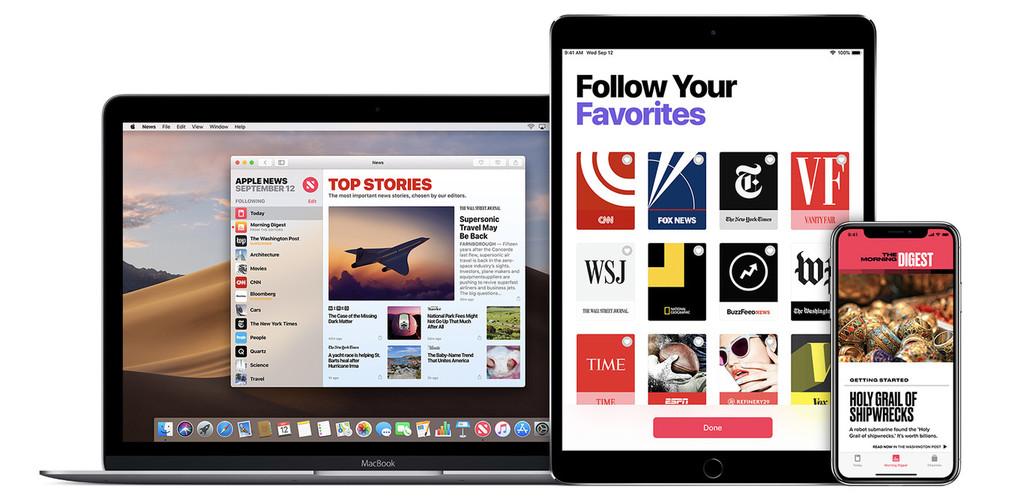 Apple News, la suscripción de pago y el caballero blanco para los medios en internet(triplew)