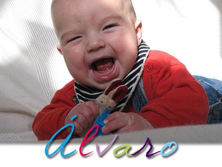 Los nombres de bebé más utilizados en España: Álvaro