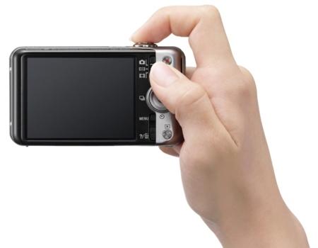 Sony WX50 en mano