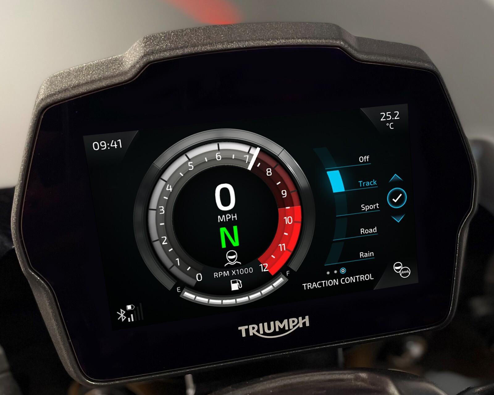 Foto de Triumph Speed Triple 1200 RS 2021 (2/71)