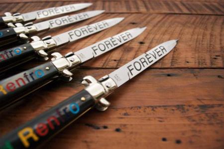 Navajas de James Franco para LATAMA: Forever