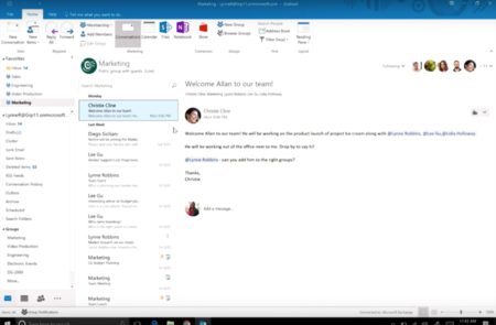 Outlook Windows