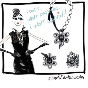 Joyas Volubilis Lanvin, para quienes no quieren pasar desapercibidas por la vida