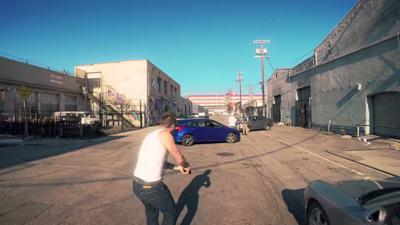 Hasta la fecha este es el mejor live action que representa a GTA en la vida real