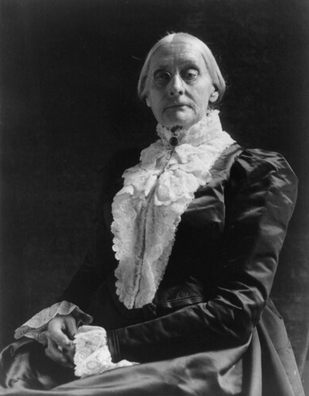Susan B Anthony By Frances Benjamin Johnston