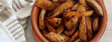 Receta de patatas gajo especiadas, ideal como guarnición