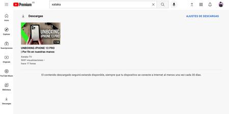 Youtube Premium Descargas 1
